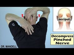 Occipital Decompression: Fast Relief From Neck Pain, Headaches. Pinched Nerve In Shoulder, Neck And Shoulder Pain, Neck Exercises, Neck Stretches, Occipital Neuralgia, Neck Headache, Neck Pain Relief, Nerve Pain, Gym