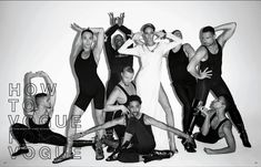 """Joan Smalls (IMG) is on the cover of Vogue Japan for January 2013 issue. Photographed by Terry Richardson. Editorial is called """"How to Vogue"""". Terry Richardson, Joan Smalls, Vogue Dance, Vogue Poses, Madonna Vogue, Paris Is Burning, Kids Makeup, Dance Poses, Fashion Poses"""