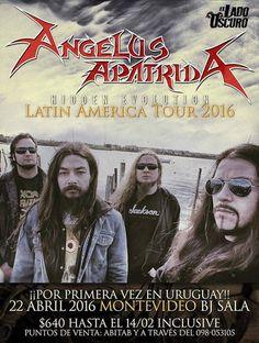 Angelus Apatrida por primera vez en Montevideo | cooltivarte.com