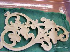 DIY that shows you how to make plaster reproductions of things.  Great idea for reproducing appliques on furniture.