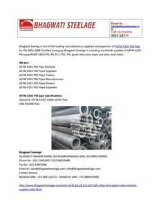 Astm a335 p92 pipe