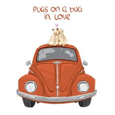 Pug love by Lelpel on DeviantArt