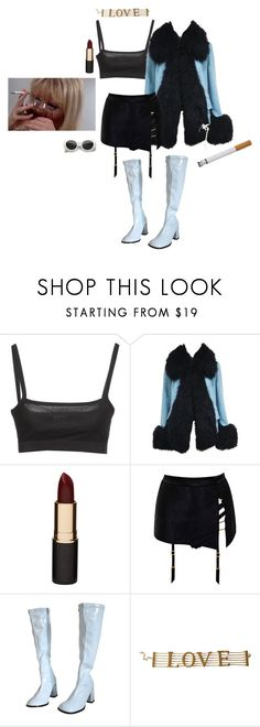 """foxy"" by angelsigh ❤ liked on Polyvore featuring Dries Van Noten, Vivienne Westwood, Mimco, Agent Provocateur and Dolce&Gabbana"