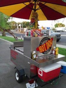 Hot Dog Cart - business outdoors