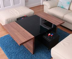 Functional Dual-Arcade Table This