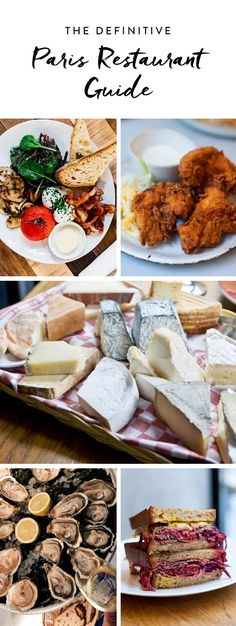 The Definitive Paris Restaurant Guide via @PureWow