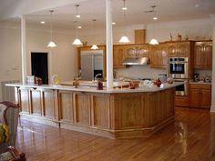 Photo 16 Light Oak Kitchen Cabinets Colors