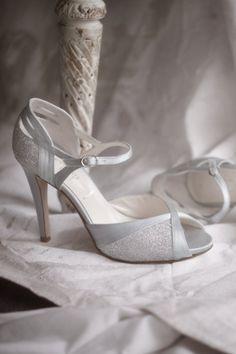 silver blue Cassiopeia Heels   BHLDN