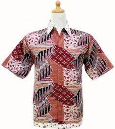 baju batik pria hp135