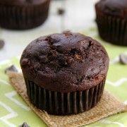Chocolate Zucchini Muffins » Eat. Drink. Love.