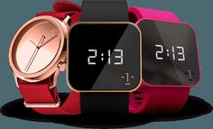 1:face watches.  Beautiful design and every one for a good cause. Each color for defferent cause