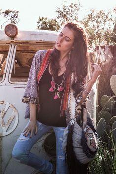 . Hippie Chick, Hippie Style, Bohemian Soul, Hippie Dresses, Tie Dye Dress, Boho Jewelry, Bell Bottoms, Boho Fashion, Upcycle