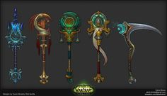 ArtStation - Legion Artifact Weapons, Calvin Boice