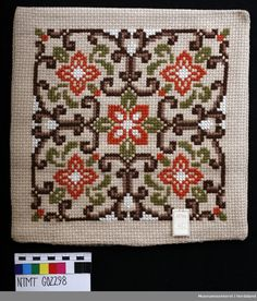 Cross Stitch Bookmarks, Cross Stitch Art, Simple Cross Stitch, Cross Stitch Flowers, Cross Stitch Designs, Cross Stitching, Cross Stitch Patterns, Cushion Embroidery, Hardanger Embroidery