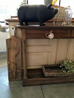 Chalkboard Pig | Unique home furnishings at Pearson & Company Omaha