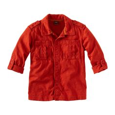 Take a Bali safari in this super slub jersey button up shirt. Roll it up or down for supreme versatility and cool. Imported.