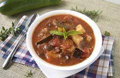 Zucchini and Eggplant Stew