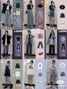 Teen Fashion Outfits, Kpop Outfits, 80s Fashion, Look Fashion, Stylish Outfits, Girl Fashion, Fashion Design, Winter Fashion, Fashion Tips