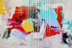 "Saatchi Online Artist Irena Desovska Belcovski; Painting, ""Searching For Balance"" #art"
