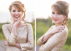 Ein Glamour Braut-Make-Up | Friedatheres Foto: Kathrin Hester H&M: Astrid Pieper
