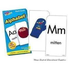 開學必用學習卡/英文字卡/教學卡/英文閃示卡--Alphabet【英文字母卡】,52張真實照片 - Yahoo! 奇摩拍賣