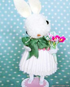 will this be the year I finally make Jennifer Murphy's pom-pon bunnies?