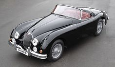 1958 Jag XK-150. Well, why not?