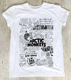 Arctic Monkeys Shirt TShirt TShirt Tee Shirt No by WinterIszComing, $18.00