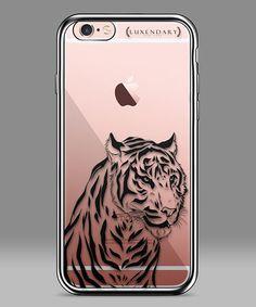 Look at this #zulilyfind! Black & Clear Tiger iPhone Case #zulilyfinds
