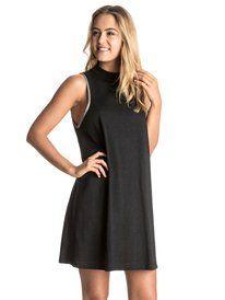 roxy, Eye On Summer Tank Dress, TRUE BLACK (kvj0)