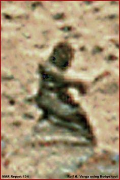 Mars Rover Statue or Person?
