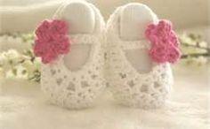 crochet baby ballerina slippers - Bing Images