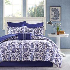 Madison Park Montauk 8 Piece Comforter Set|Designer Living