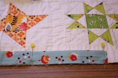 Why Not Sew?: Hand Pieced Quilt-A-Long ~ Binding