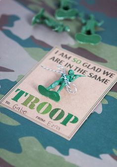Army Valentine from Armelle Blog