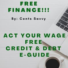 FREE DEBT E-GUIDE!! Financial Peace, Financial Literacy, Financial Goals, Saving Ideas, Saving Tips, Small Business Accounting, Continuing Education, Useful Life Hacks, Money Management