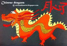 artisan des arts: Chinese dragons - grade 4/5