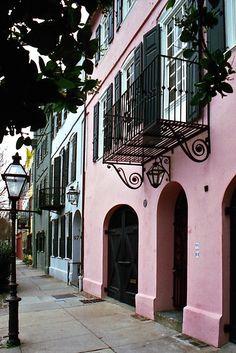 Rainbow Row - Charleston, SC I LOVE CHARLESTON, would move back tomorrow!!!