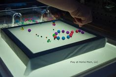 Play At Home Mom LLC: Getting Creative with Push Pins
