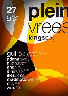 27 April #Kingsday #koningsdag 2015 #pleinvrees #amsterdam