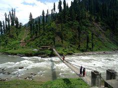Bridge towards Hanthi Village, Neelum Valley Azad Kashmir   Flickr - Photo Sharing! #KashmirExplorers #Kashmir
