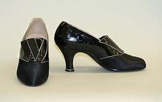 Shoes  Saks Fifth Avenue (American, founded 1924)  Date: 1924–25 Culture: French Medium: silk, leather