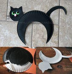 Zwarte kat ook voor halloween eventueel