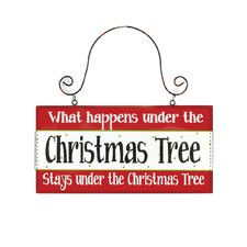 What Happens Under Tree Ornament