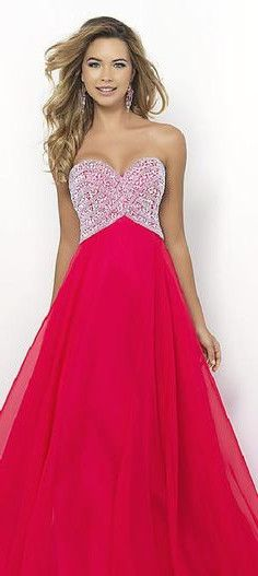 red prom dress #fashion #beauty #elegant