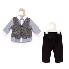 Driedelige nette set zwart Jongens babykleding