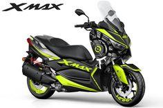 Yamaha Nmax, Yamaha Scooter, Yamaha Cafe Racer, Scooter Motorcycle, Yamaha Motorcycles, Motorcycle Garage, Motorcycle Memes, Cool Motorcycle Helmets, Motocross Bikes