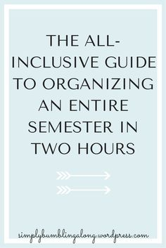 Click here to read the inclusive guide to how easy it is to plan for your entire semester!