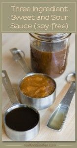 Three Ingredient Sweet and Sour Sauce | Real Food Kosher