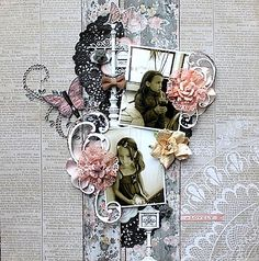 "So Lovely **Swirlydoos November 2014 kit ""Beloved"". ** - Kaisercraft - Swirlydoos November kit ""Beloved"". Kaisercraft - Rustic Harmony Collection http://willeascrappar.blogspot.com"